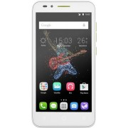"Telefon Mobil Alcatel Go Play, Procesor Quad-Core 1.2GHz, IPS HD Capacitive touchscreen 5"", 1GB RAM, 8GB Flash, 8MP, Wi-Fi, 4G, Android (Alb/Verde) + Cartela SIM Orange PrePay, 6 euro credit, 6 GB internet 4G, 2,000 minute nationale si internationale fix"