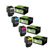 Lexmark Pack Toners XL 80C2H (4 Colores)