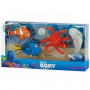 Bullyland - Set Figurine Dory Hank Bailey Marlin - Finding Dory
