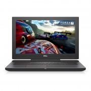 Laptop Dell Inspiron 7577 15.6 inch UHD Intel Core i7-7700HQ 16GB DDR4 1TB HDD 512GB SSD nVidia GeForce GTX 1060 6GB FPR Windows 10 Home Black