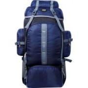 alfisha Outdoor Sports 65 L Hiking Climbing Bag Waterproof Trekking Mountaineering Rucksack Men Women Travel Daypack Camping Backpack 1042 nAVY BLUE Rucksack - 65 L(Multicolor)