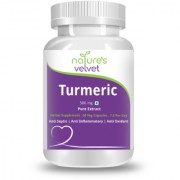 Natures Velvet Lifecare Turmeric Pure Extract 500mg 60 Veggie Capsules
