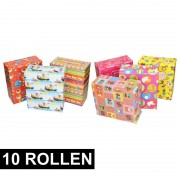 Shoppartners 10x Sint Nicholas inpakpapier
