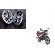 KunjZone Chrome olex horn Set Of 2 For Honda DREAM YUGA