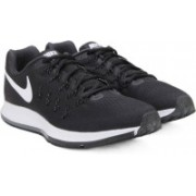 Nike AIR ZOOM PEGASUS Running Shoes(Black, White)