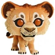 Figura Funko Pop! - Simba (Aterciopelado) - Disney: El Rey León 2019 (EXCLUSIVA VIP)