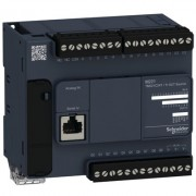 PLC SCHNEIDER ELECTRIC TM221C24T, 14DI/10DO, iesiri tranzistor, port serial (RJ45), alimentare 24 VDC