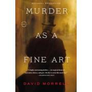 Murder as a Fine Art, Paperback