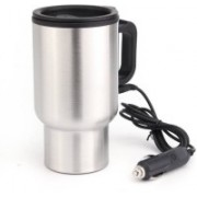 Bluebells India Car Charging Stainless Steel Travel Electric Kettle(450 L, Stainless steel)