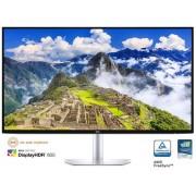 """Monitor IPS LED Dell 27"""" S2719DC, WQHD (2560 x 1440), HDMI (Negru/Argintiu) + Viziera de protectie din PET 100% (Transparent)"""