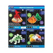 Discovery Kids Mega 4-in-1 Science Set-Crystal
