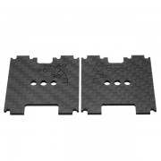 2 PCS Eachine Wizard X220S FPV Racer RC Drone Spare Part Camera Angle Scale Front Side Plate Carbon Fiber