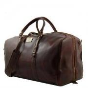 TUSCANY LEATHER Sac de Voyage Cuir Francoforte Tuscany-Leather Marron