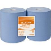 Rola hartie albastra consum industrial 3 straturi