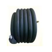 Předizolovaný nerezový vlnovec jednoduchý DN25 x50 m, 19 mm izolace