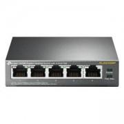 Комутатор TP-Link TL-SG1005P с 4 PoE порта (5 x 10/100/1000Mbps RJ45), TL-SG1005P(UN)_VZ