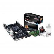 Combo Actualización AsRock Amd A4 6300 Mother Fm2 A68 8gb-Negro