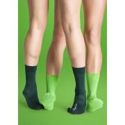 2 Pack One Colour Socks: 36-40