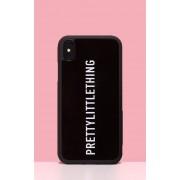PRETTYLITTLETHING - Coque noire pour iPhone XS Max, Noir - One Size
