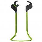 Apple S20 magnetische schakelaar Sweatproof Motion draadloze In-Ear bluetoothhoofdtelefoon met Indicator licht & Mic afstand: 10m voor de iPad Laptop iPhone Samsung HTC Huawei Xiaomi en andere slimme Phones(Green)