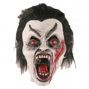 Geen Halloween dracula masker van latex