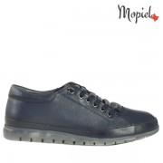 Pantofi dama, din piele naturala 239301/204/Blue/Alina