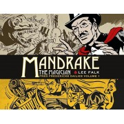 Mandrake the Magician: Fred Fredericks Dailies Volume 1 - The Return of Evil - The Cobra, Hardcover