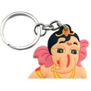 Lord Ganesha PVC Rubber Keychain