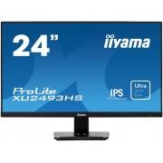 "Monitor IPS, IIYAMA 23.8"", ProLite XU2493HS-B1, 4ms, 5Mln:1, HDMI/DP, Speakers, FullHD"