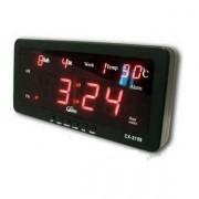 IP-LD-2110 Дигитален LED диоден часовник с термометър за стена или бюро