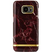 Blue City Richmond and Finch Cover Samsung S7 Edge Red Marble Glossy