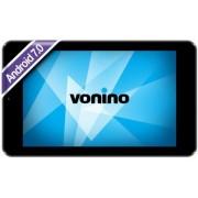 "Tableta Vonino Navo P, Procesor Quad-Core 1.3GHz, IPS Capacitive touchscreen 7"", 1GB RAM, 8GB Flash, 0.3MP, Wi-Fi, Android (Negru) + Cartela SIM Orange PrePay, 6 euro credit, 4 GB internet 4G, 2,000 minute nationale si internationale fix sau SMS nationale"