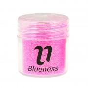 4 Fles/Set Sequin Dust Gem Nail Glitter Decoraties 4 Kleuren Acryl UV Glitter Poeder 3D Nail Art Tips BG053-056 Blueness