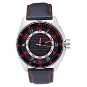 Fastrack Analog Black Round Watch -3021SL03