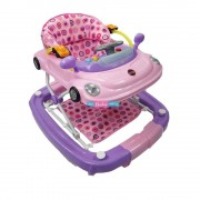 Tek Andadera para Bebe 2 en 1 Mecedora Morrocco de Lujo (Color Rosa) Tek AEAndaderaMorroco-Rosa