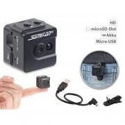 Somikon Ultrakompakte Micro-Videokamera mit HD-720p-Auflösung & LED-Nachtsicht