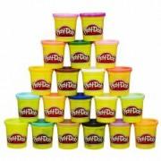 Set Play-Doh Culorile curcubeului 20 cutii