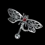 Piercing de nombril Papillon en Tribal