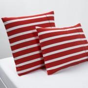 La Redoute Interieurs Fronha de almofada, em puro algodão, MALOvermelho/branco- 63 x 63 cm