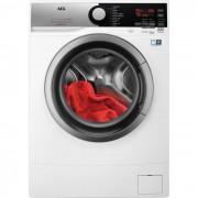 AEG L6SE62W lavatrice Libera installazione Caricamento frontale Nero, Argento, Bianco 6 kg 1200 Giri/min A+++