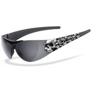 Helly Bikereyes Moab 4 1000 Skulls Gafas de sol Negro un tamaño