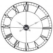 Zegar ścienny metalowy duży RETRO LOFT 88 cm