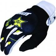 Shot Contact Rockstar 3.0 Motocross Gloves Black White Yellow 3XL