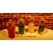 Set de borcanase conserve cu dop de pluta - miniatura