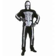 Costum Schelet Skeleton Copii 11 - 13 ani 158 cm
