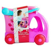 Little Mommy Riden Drive Shopping Cart,4 Food Accessories