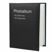 Album foto Conception format 10X15 100 poze tip carte piele ecologica negru