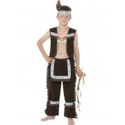 Childs Indian Boy Costume - MEDIUM