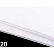 Material imitatie panza sac, 100*150 cm - alb