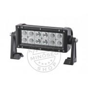 CREE LED fényhíd (talpas) 12 LED kombinált fény